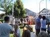 Dorffest 2012 - mittägliche Schlange am Sterckerlfischstand