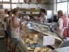 Dorffest 2012 - die Reste am Kuchenbuffet
