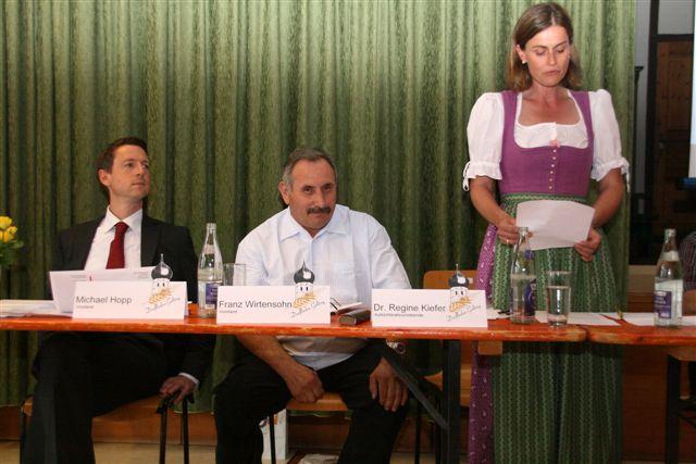 Hr. Hopp, Franz Wirtensohn, Fr. Dr. Kiefer