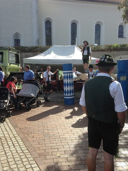 Dorffest 2018 - Maibaumversteigerung