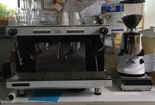 Unsere neue Kaffeemaschine!